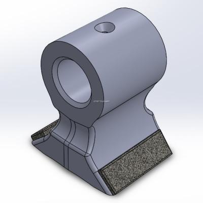 Klepel passende op Seppi met 2 carbide lagen