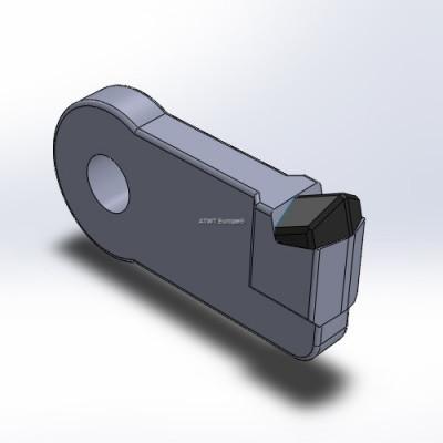 Duratech, HD8/10 ja TG2009/3010 -yhteensopiva heilurivasara kovametallikärjellä.