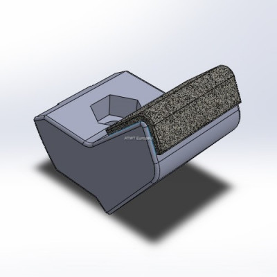 Husmann HF V/VI/Z -yhteensopiva terä kolmella karbidikerroksella.