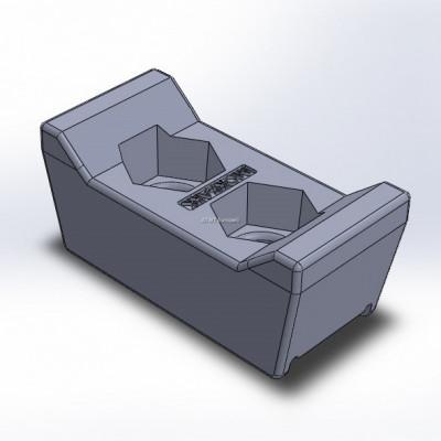 Morbark -yhteensopiva terä ilman pinnoitusta, G-malli