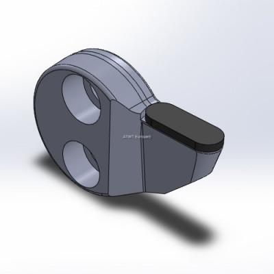Kantojyrsimen terä kovaan käyttöön, neutraali, suurella kovametallikärjellä, Rayco-yhteensopiva