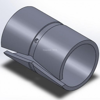 Holkki, sopii Doppstadt AK -sarjan pitimiin (105mm)