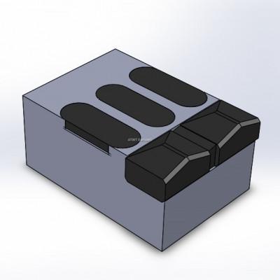 Morbark, Tub Grinder 1200 XL yhteensopiva terä. 6 kovametallikärkeä