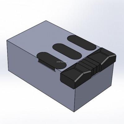 Morbark, Tub Grinder 1200 XL yhteensopiva terä, 8 kovametallikärkeä