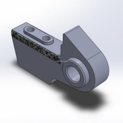 Neuson, SD 1600A/3400 -yhteensopiva terä, kaksi karbidikerrosta.