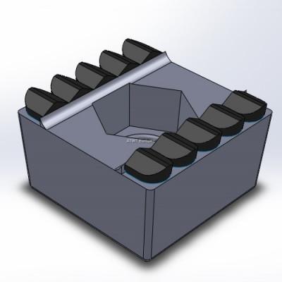 Peterson, HC2400/3400 -yhteensopiva terä, kymmenen kovametallikärkeä